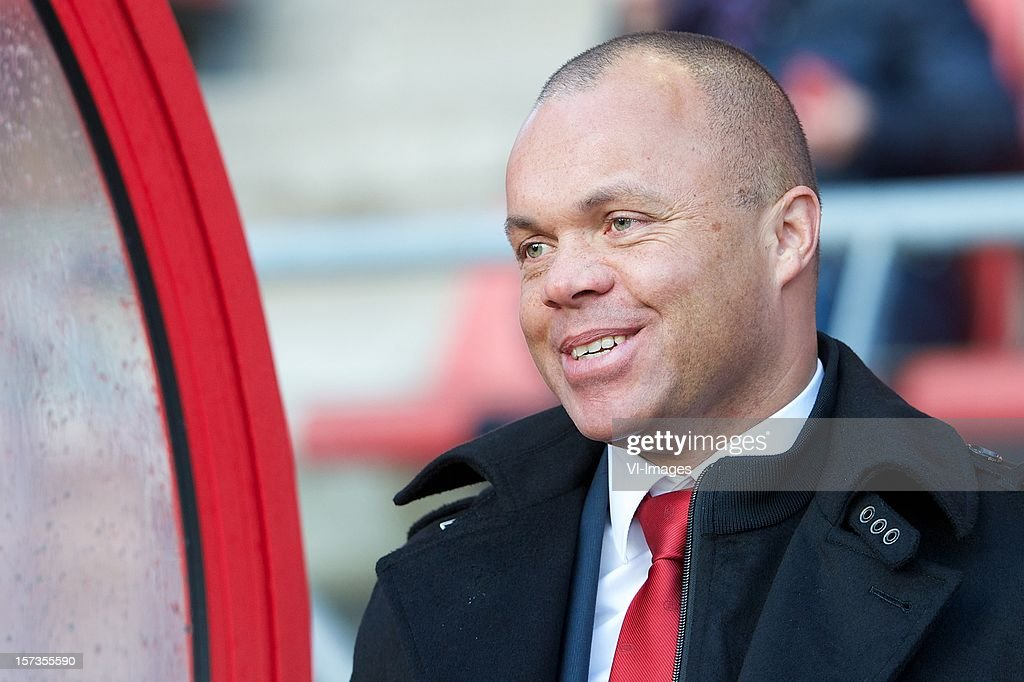 AZ Directeur Voetbalzaken Earnest Stewart during the Dutch Eredivisie match between FC Utrecht and AZ Alkmaar at the Galgenwaard Stadium on December 02, 2012 in Utrecht, The Netherlands.