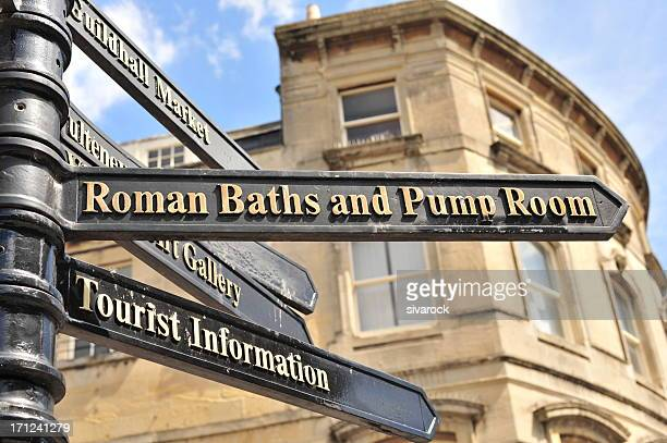 Direction to Roman Baths