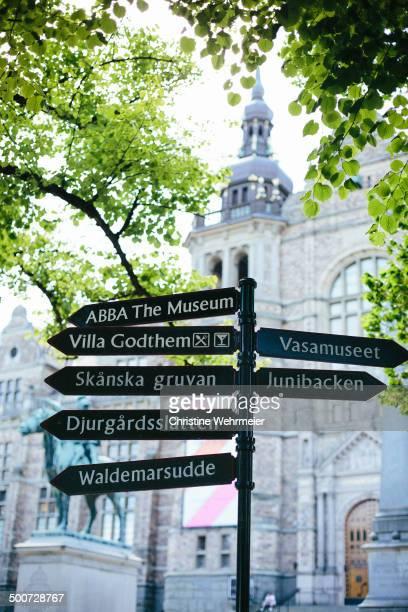 CONTENT] directions for ABBA The Museum Villa Godthem Vasamuseet Skanska gruvan Junibacken Djurgårdsslätten Waldemarsudde with Nordiska Museet in the...
