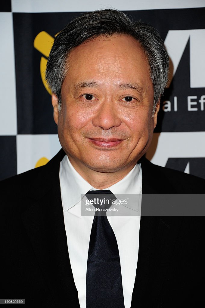 Directir Ang Lee arrives at the 2013 Visual Effects Society Awards at The Beverly Hilton Hotel on February 5, 2013 in Beverly Hills, California.