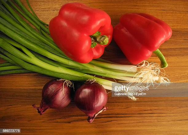 Directly Above View Of Vegetables On Table