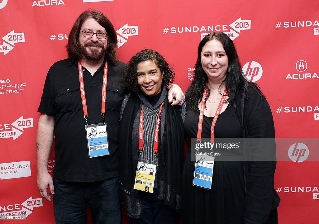 Director Aaron Aites, Senior Programmer Sundance Film Festival & New Frontier at Sundance Shari Frilot and director Audrey Ewell attend the '99% - The Occupy Wall Street Collaborative Film' premiere at Egyptian Theatre during the 2013 Sundance Film Festival on January 20, 2013 in Park City, Utah.