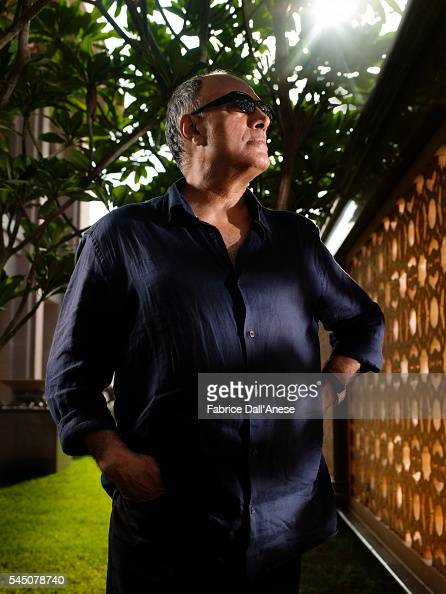 Director Abbas Kiarostami is photographed for Self Assignment on October 20 2010 in Abu Dhabi United Arab Emirates
