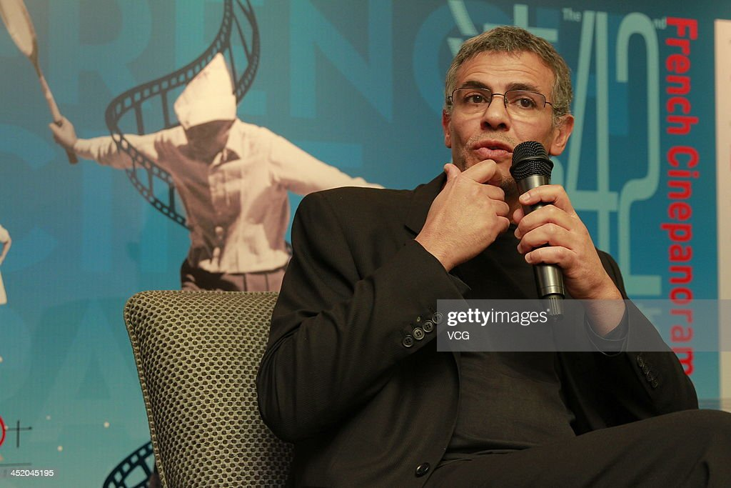 Director <a gi-track='captionPersonalityLinkClicked' href=/galleries/search?phrase=Abdellatif+Kechiche&family=editorial&specificpeople=2549398 ng-click='$event.stopPropagation()'>Abdellatif Kechiche</a> attends a press conference on November 25, 2013 in Hong Kong, Hong Kong.