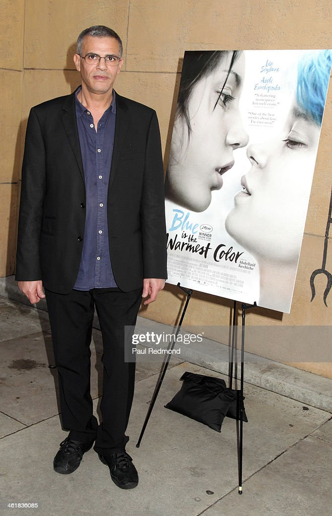 Director Abdellatif Kechiche attends Golden Globe Foreign-Language nominees panel discussion and screening series at American Cinematheque's Egyptian Theatre on January 11, 2014 in Hollywood, California.