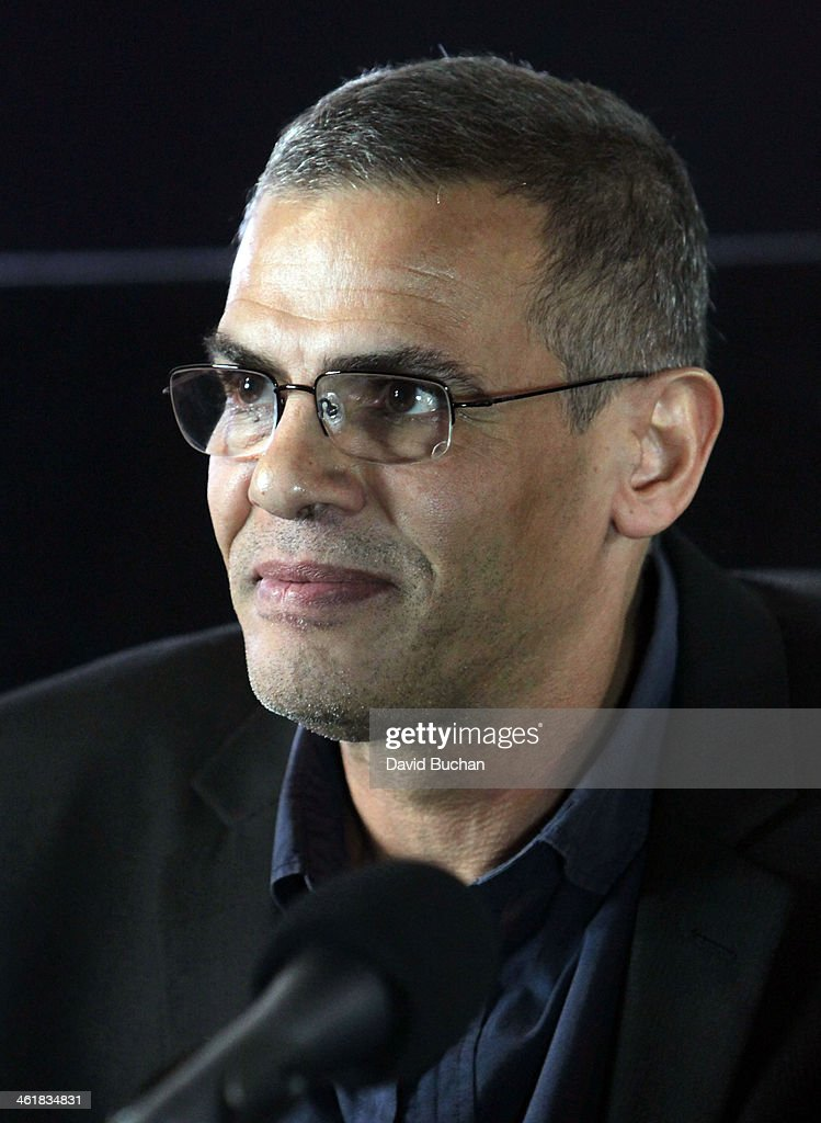Director <a gi-track='captionPersonalityLinkClicked' href=/galleries/search?phrase=Abdellatif+Kechiche&family=editorial&specificpeople=2549398 ng-click='$event.stopPropagation()'>Abdellatif Kechiche</a> attends the Golden Globe Foreign Language Film Symposium at the Egyptian Theatre on January 11, 2014 in Hollywood, California.