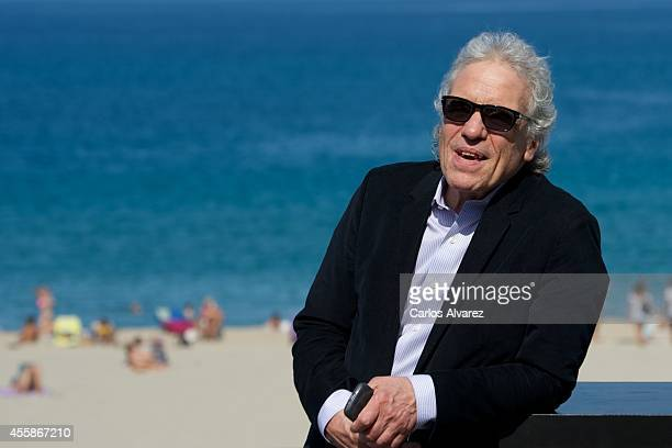 Director Abel Ferrara attends the 'Pasolini' photocall at the Kursaal Palace during the 62nd San Sebastian Film Festival on September 21 2014 in San...