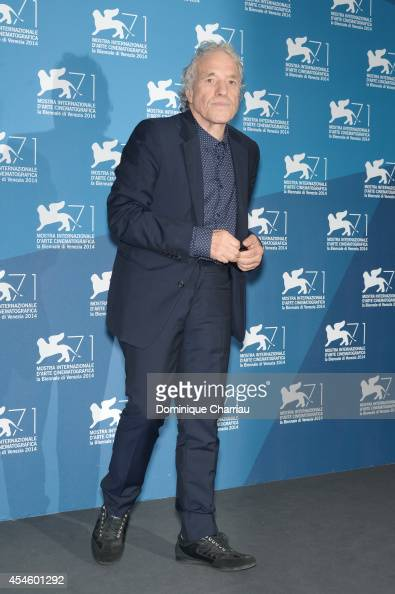 Director Abel Ferrara attends the 'Pasolini' photocall during the 71st Venice Film Festival at Palazzo del Cinema on September 4 2014 in Venice Italy