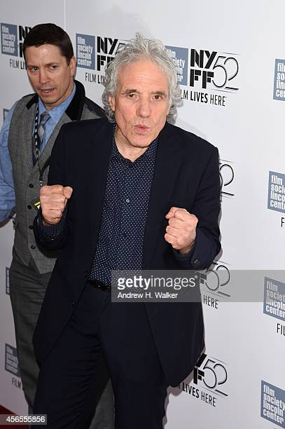 Director Abel Ferrara attends the 'Pasolini' premiere during the 52nd New York Film Festival at Alice Tully Hall on October 2 2014 in New York City