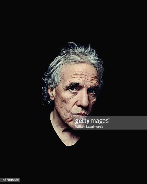 Director Abel Ferrara is photographed for Self Assignment in San Sebastian Spain