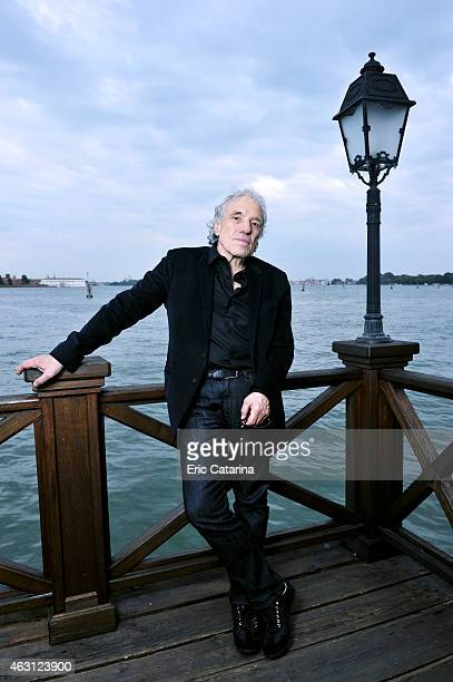 Director Abel Ferrara is photographed for Self Assignment on September 1 2014 in Venice Italy