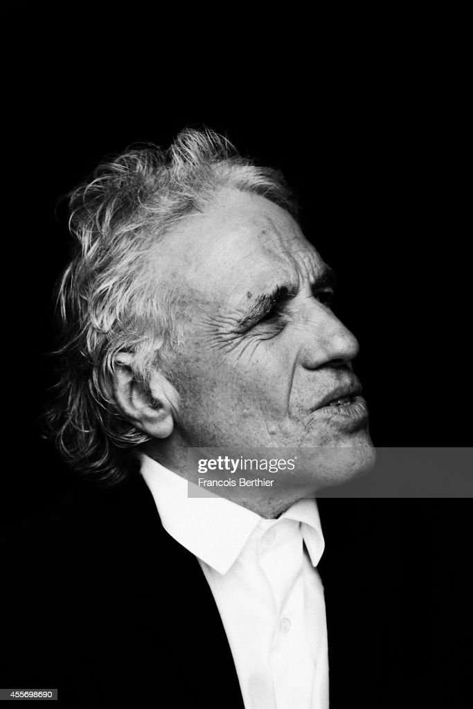 Director <a gi-track='captionPersonalityLinkClicked' href=/galleries/search?phrase=Abel+Ferrara&family=editorial&specificpeople=586297 ng-click='$event.stopPropagation()'>Abel Ferrara</a> is photographed for Self Assignment on September 13, 2014 in Deauville at Villa Cartier, France.