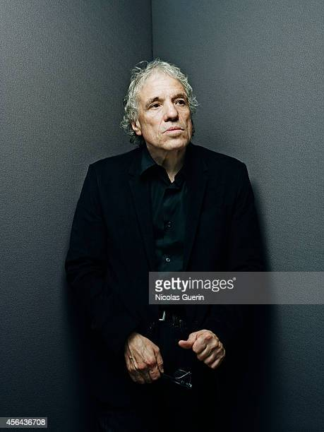 Director Abel Ferrara is photographed for Self Assignment on September 5 2014 in Venice Italy