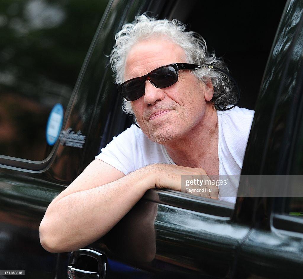 Director Abel Ferrara is seen in Soho on June 24, 2013 in New York City.