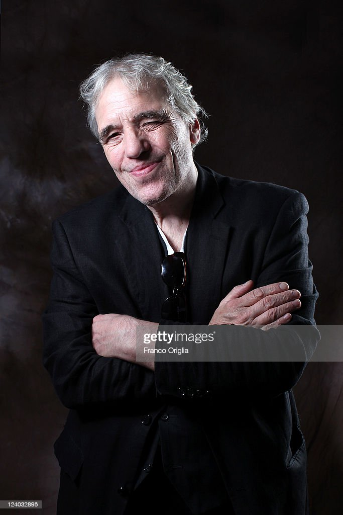 Director <a gi-track='captionPersonalityLinkClicked' href=/galleries/search?phrase=Abel+Ferrara&family=editorial&specificpeople=586297 ng-click='$event.stopPropagation()'>Abel Ferrara</a> poses at the '4:44 Last Day on Earth' portrait session during the 68th Venice Film Festival at Lancia Cafe on September 7, 2011 in Venice, Italy.