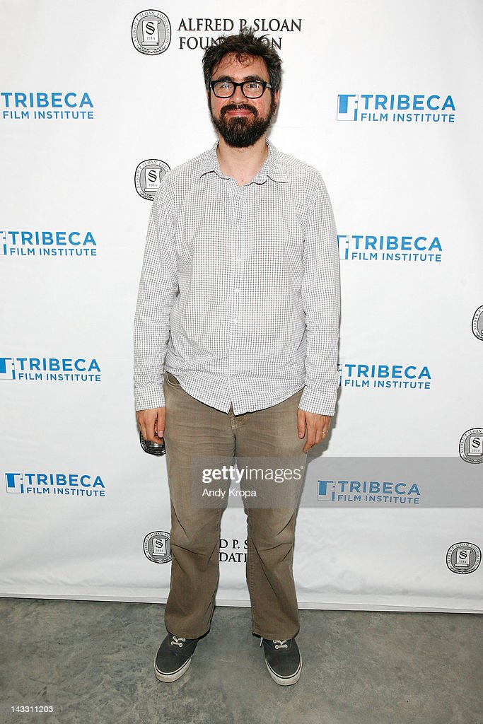 Director, actor Andrew Bujalski attends the Sloan WIP Readings & Cocktails during the 2012 Tribeca Film Festival at The Green Space on April 23, 2012 in New York City.
