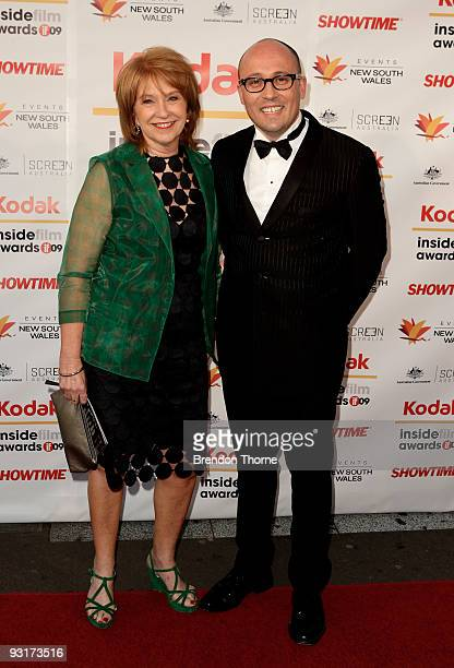 Director Adam Elliott and Jan Chapman arrives for the 2009 Kodak Inside Film Awards at Luna Park on November 18 2009 in Sydney Australia