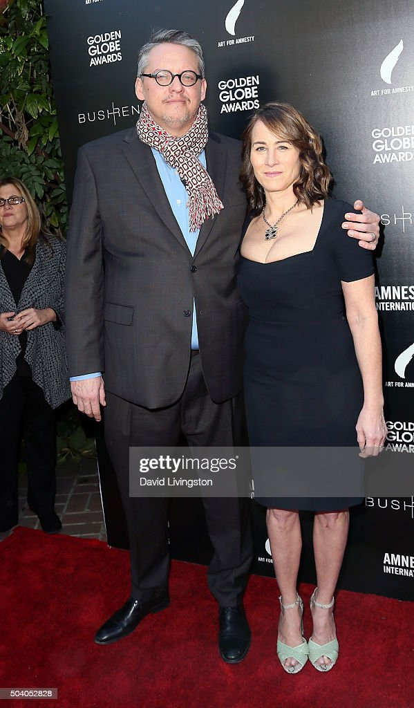 Adam McKay with beautiful, Wife Shira Piven