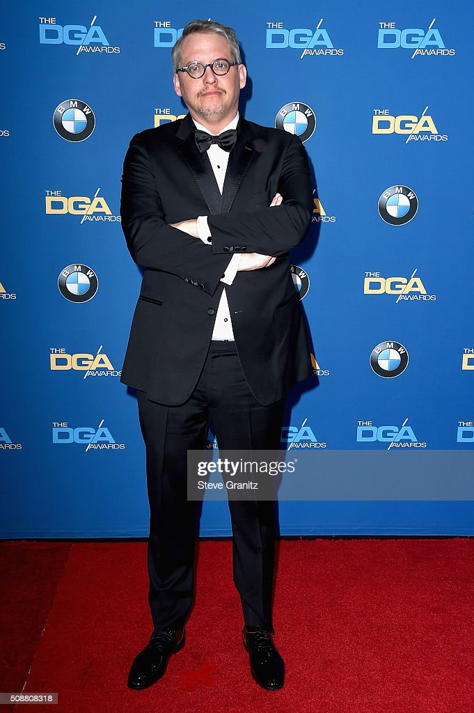 Director Adam McKay attends the 68th Annual Directors Guild Of America Awards at the Hyatt Regency Century Plaza on February 6, 2016 in Los Angeles, California.