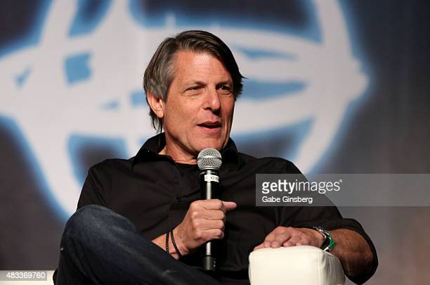 Director Adam Nimoy speaks during the 'Creation Entertainment's Celebration of the Life and Times of Leonard Nimoy' panel at the 14th annual official...