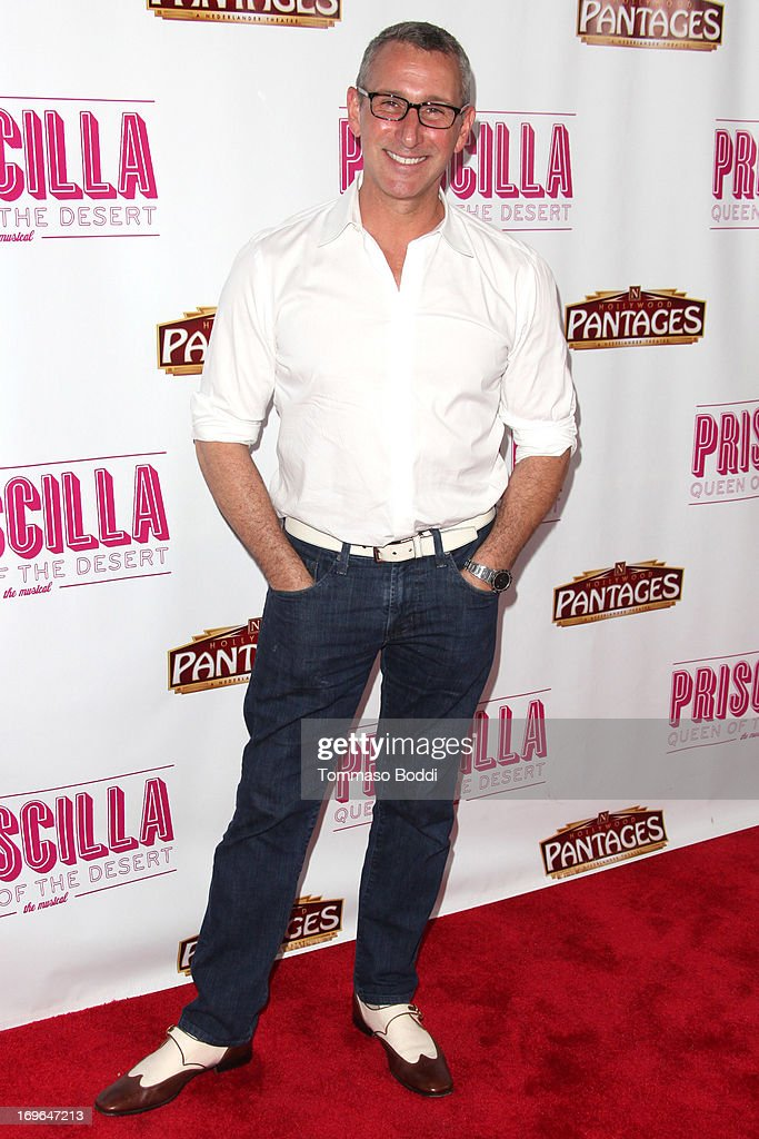Director <a gi-track='captionPersonalityLinkClicked' href=/galleries/search?phrase=Adam+Shankman&family=editorial&specificpeople=1295239 ng-click='$event.stopPropagation()'>Adam Shankman</a> attends the 'Priscilla Queen Of The Desert' Los Angeles opening night held at the Pantages Theatre on May 29, 2013 in Hollywood, California.