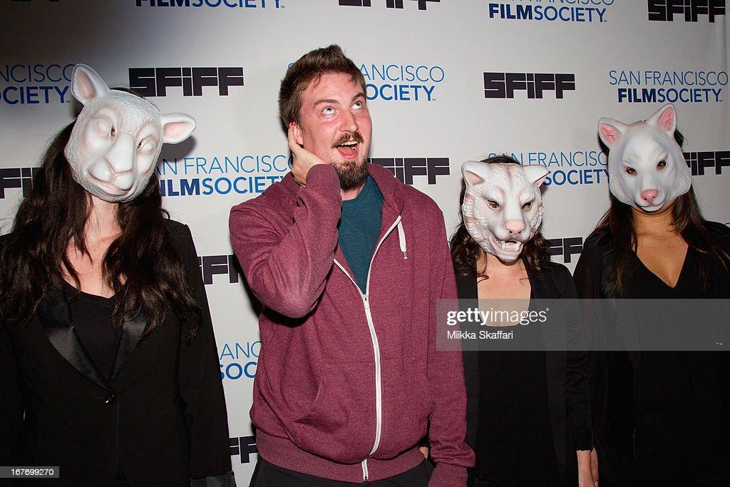 Director Adam Wingard arrives at 'You're Next' premiere at Sundance Kabuki Cinemas on April 27, 2013 in San Francisco, California.