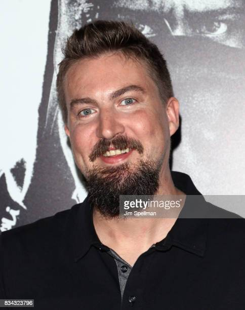 Director Adam Wingard attends the 'Death Note' New York premiere at AMC Loews Lincoln Square 13 theater on August 17 2017 in New York City