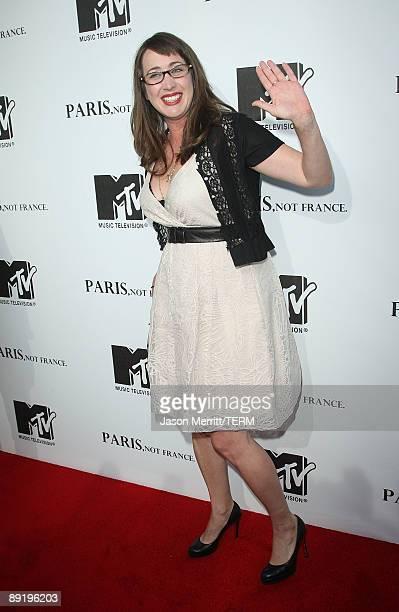 Director Adria Petty arrives at the MTV screening of 'Paris Not France' documentary at The Majestic Crest on July 22 2009 in Los Angeles California