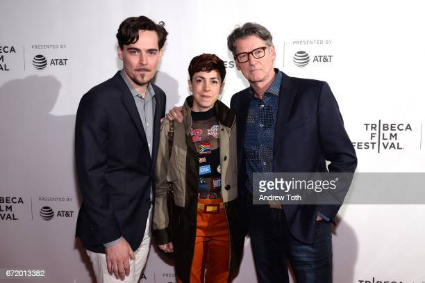 Director Adrian Buitenhuis executive producer Jaimee Kosanke and director Derik Murray attend the 'I Am Heath Ledger' premiere during the 2017...