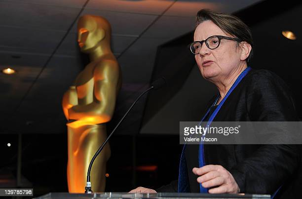 Director Agnieska Holland attends the 84th Annual Academy Awards Foreign Language Film Award Directors Reception at the Academy of Motion Picture...