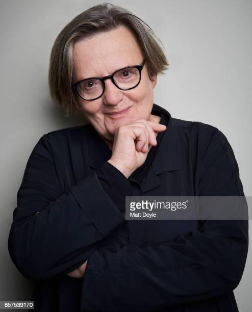 Director Agnieszka Holland from the film 'Spoor' poses for a portrait at the 55th New York Film Festival on September 28 2017