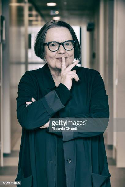 Director Agnieszka Holland is photographed for Self Assignment on February 14 2017 in Berlin Germany