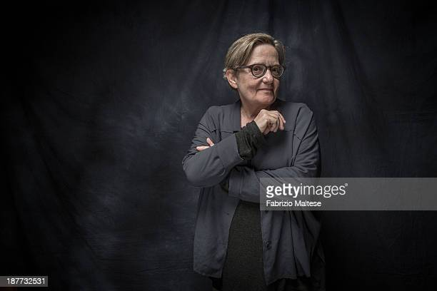 Director Agnieszka Holland is photographed for The Hollywood Reporter during the 38th Toronto International Film Festival on September 9 2013 in...