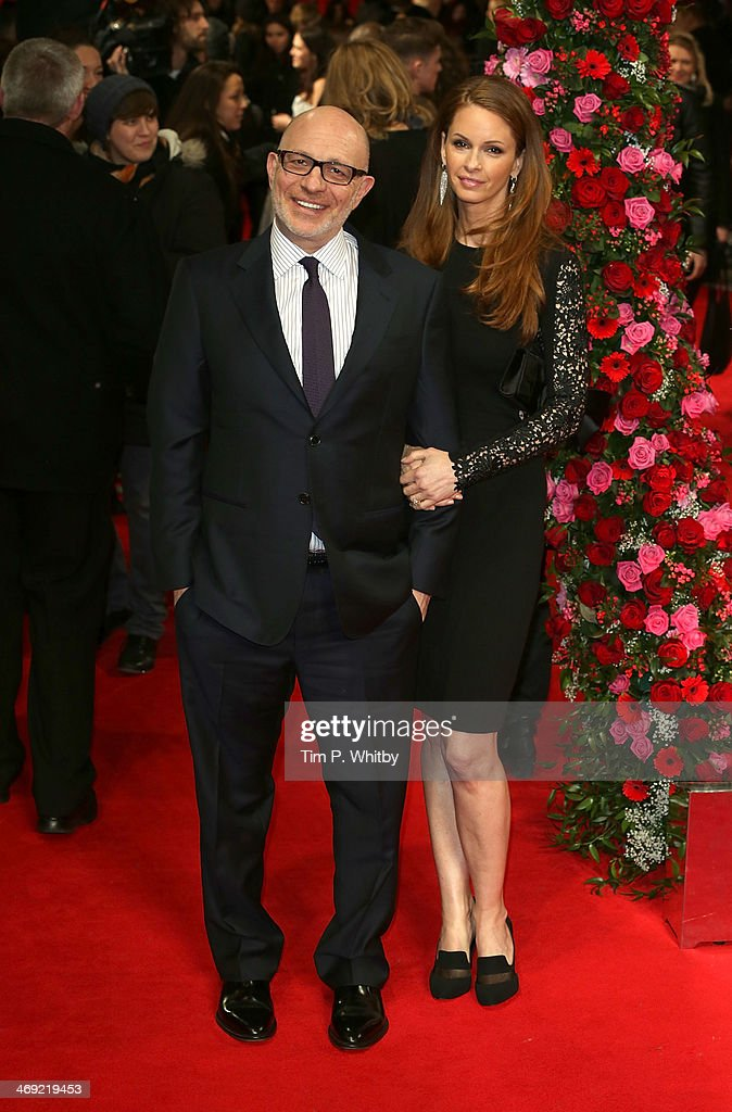 Director <a gi-track='captionPersonalityLinkClicked' href=/galleries/search?phrase=Akiva+Goldsman&family=editorial&specificpeople=242811 ng-click='$event.stopPropagation()'>Akiva Goldsman</a> and guest attend the UK Premiere of 'New York Winter's Tale' at ODEON Kensington on February 13, 2014 in London, England.