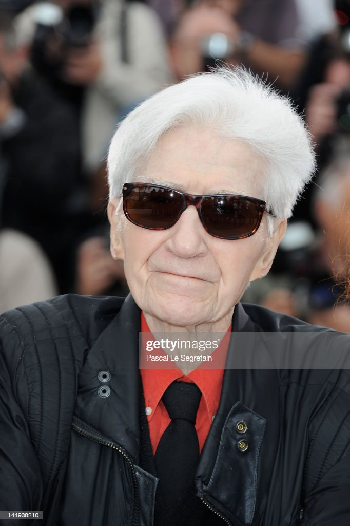 Director <a gi-track='captionPersonalityLinkClicked' href=/galleries/search?phrase=Alain+Resnais&family=editorial&specificpeople=1090412 ng-click='$event.stopPropagation()'>Alain Resnais</a> poses at 'Vous N'avez Encore Rien Vu' Photocall during the 65th Annual Cannes Film Festival at Palais des Festivals on May 21, 2012 in Cannes, France.