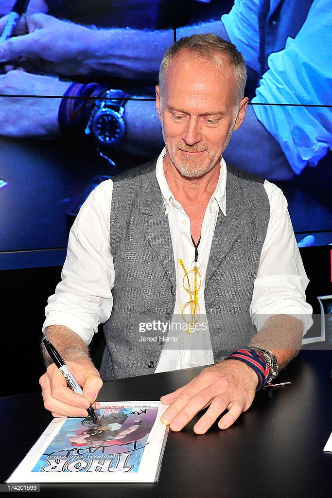 Director Alan Taylor attends Marvel's 'Thor The Dark World' Autograph Signing ComicCon International 2013 on July 21 2013 in San Diego California