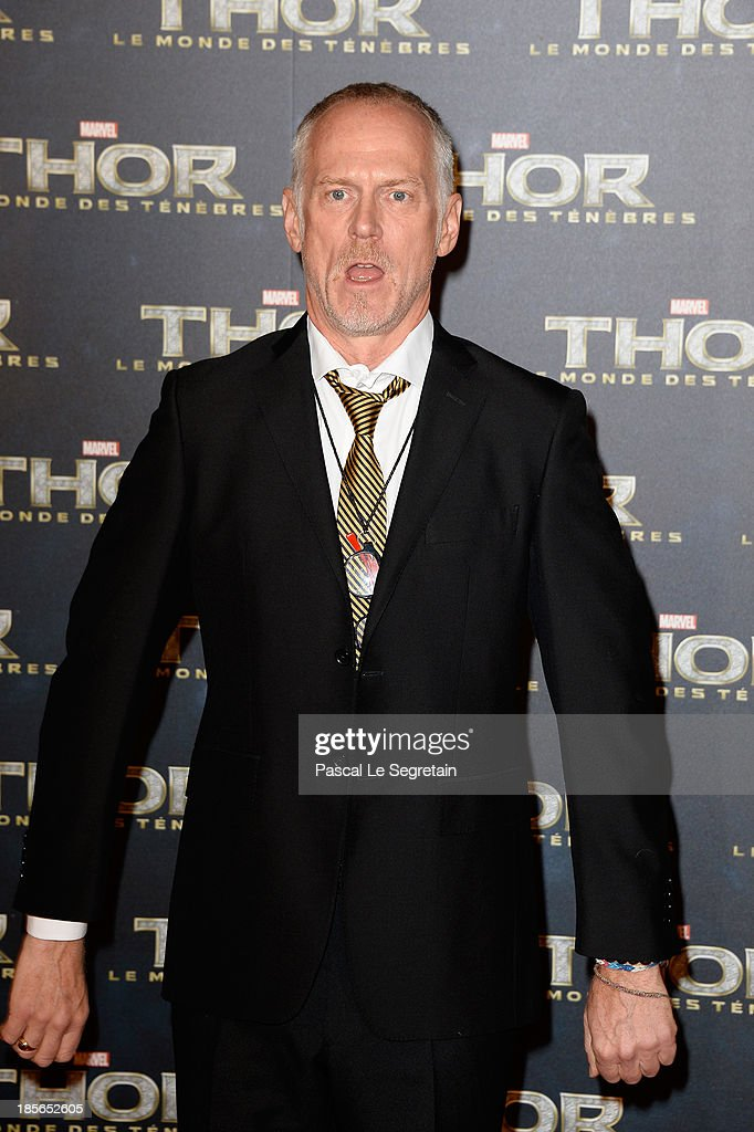Director Alan Taylor attends 'Thor: The Dark World' Premiere at Le Grand Rex on October 23, 2013 in Paris, France.