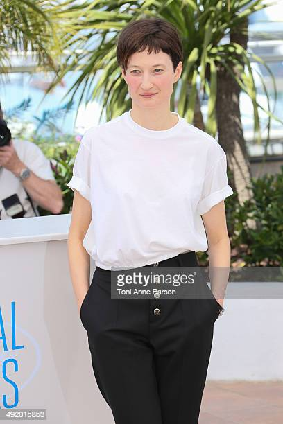 Director Alba Rohrwacher attends 'The Wonders' photocall at the 67th Annual Cannes Film Festival on May 18 2014 in Cannes France
