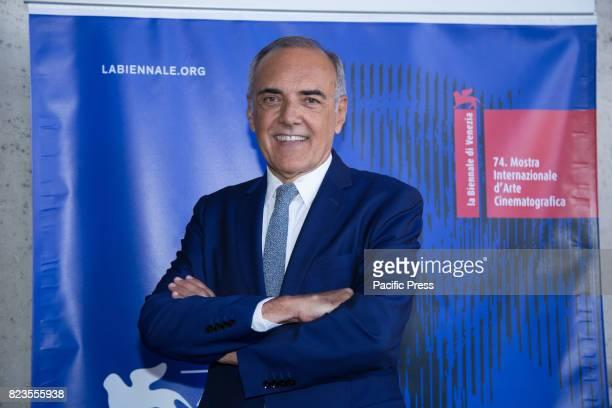 Director Alberto Barbera during Press Conference for the presentation of the 74th International Venice Film Festival