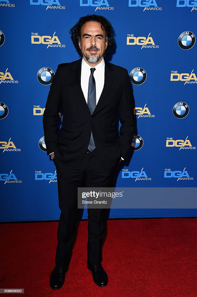 Director Alejandro G Iñárritu attends the 68th Annual Directors Guild Of America Awards at the Hyatt Regency Century Plaza on February 6 2016 in Los...