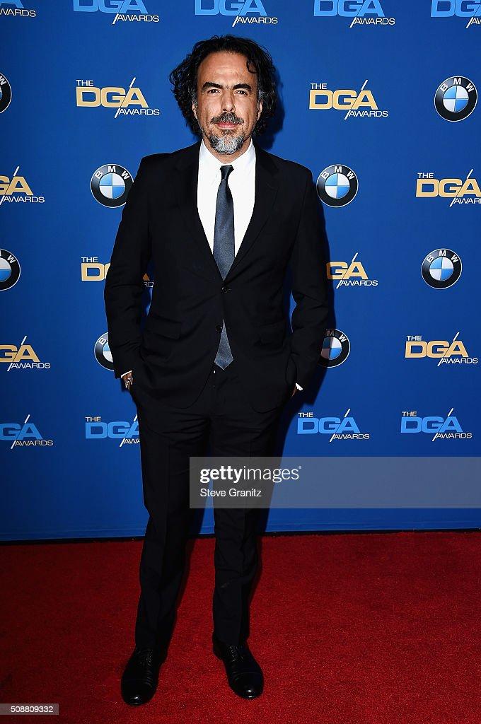 Director Alejandro G. Iñárritu attends the 68th Annual Directors Guild Of America Awards at the Hyatt Regency Century Plaza on February 6, 2016 in Los Angeles, California.