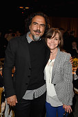 Director Alejandro Gonzalez Inarritu and actress Sally Field attend the 2015 Sundance Institute Celebration Benefit at 3LABS on June 2 2015 in Culver...