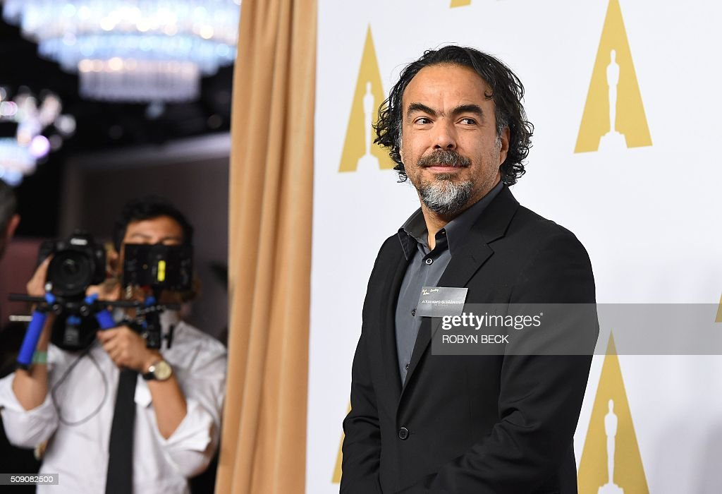 Director Alejandro Gonzalez Inarritu arrives for the 88th Oscar Nominees Luncheon in Beverly Hills, California, February 8, 2016. / AFP / ROBYN BECK