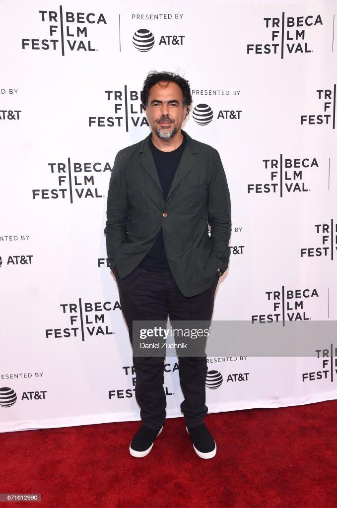 Director Alejandro Gonzalez Inarritu attends Tribeca Talks: Alejandro Gonzalez Inarritu during the 2017 Tribeca Film Festival at SVA Theatre on April 22, 2017 in New York City.