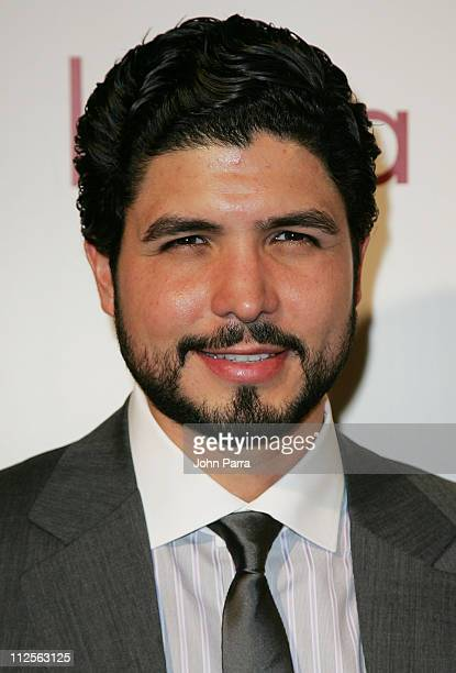 Director Alejandro Monteverde poses during arrivals for the premiere of the movie 'Bella' at the Gusman Theatre on October 23 2007 in Miami Florida