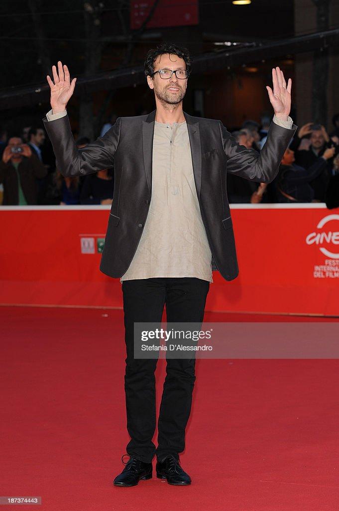 Director Alessandro Lunardelli attends 'Il Mondo Fino In Fondo' Premiere during The 8th Rome Film Festival on November 8, 2013 in Rome, Italy.