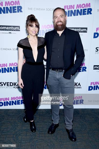 Director Alethea Jones and PK Hooker attend the screening Of 'Fun Mom Dinner' at Landmark Sunshine Cinema on August 1 2017 in New York City