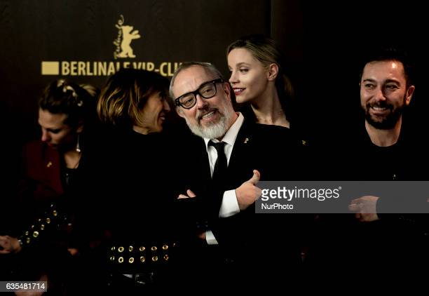 Director Alex de la Iglseia attends the Bar photocall during the 67th Berlinale International Film Festival Berlin at Grand Hyatt Hotel on February...