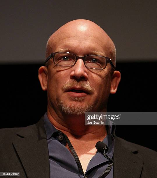 Director Alex Gibney attends the Documentary Conference With Alex Gibney held at TIFF Bell Lightbox during the Toronto International Film Festival on...