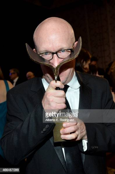 Director Alex Gibney winner of 'The Paul Selvin Award' attends the 2014 Writers Guild Awards LA Ceremony at JW Marriott at LA Live on February 1 2014...
